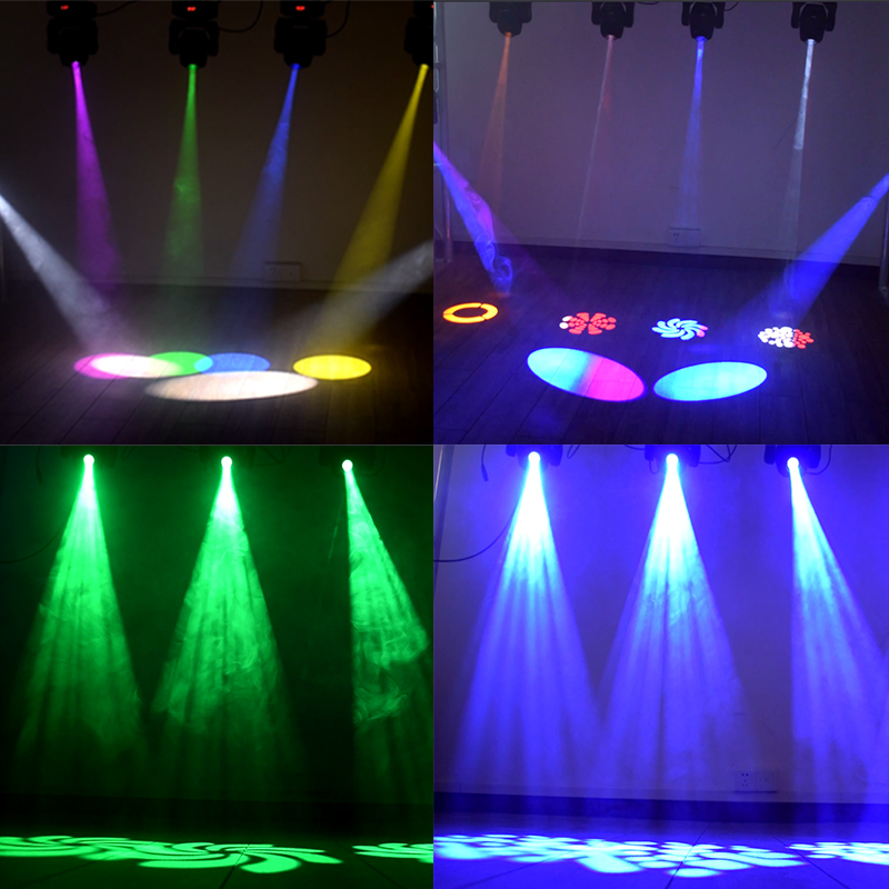 Купить с кэшбэком Lyre 60w Led Moving Head Light DMX Light Music Lights Spot Lights /auto Run/sound Controller for Club DJ Stage Party Lighting