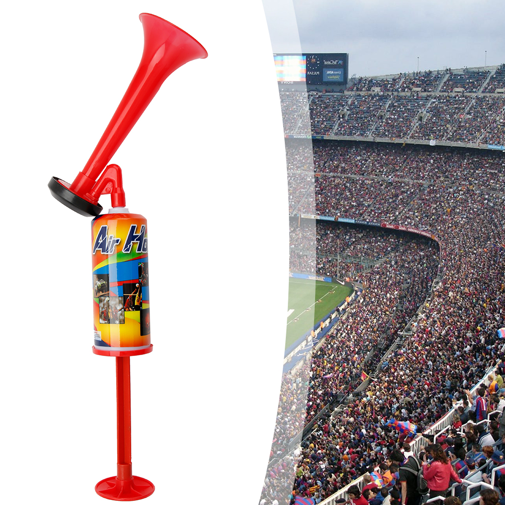 Hand Push Air Fan Horn Cheerleading  Sports Meeting Cheer Club Trumpet Kids Children Toy Pump Football Soccer Games Loud Speaker