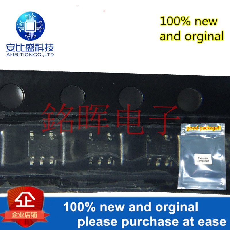10pcs 100% New And Orgianl 74LVC1G02GW Silk-screen VB SOT353 In Stock