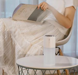 Image 5 - Xiaomi için çift sprey nemlendirici 450ml ağır sis araba ev hava temizleyici gece lambası ultrasonik nemlendirici hediye
