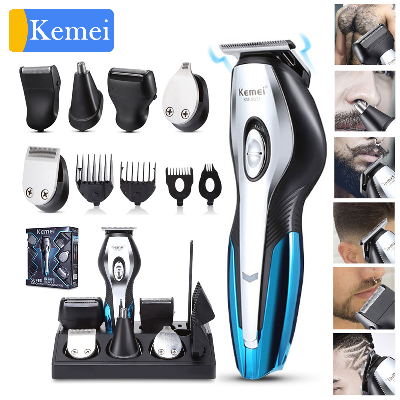 Barber Hair clipper electric hair cutting machine professional trimmer shaving beard rechargeable tools trimer cliper 5 image
