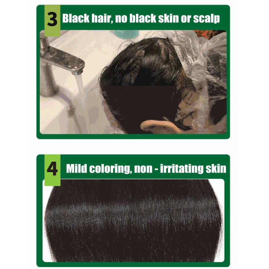 Cor do cabelo cera tintura de cabelo