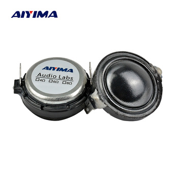 AIYIMA 2 шт. 0,75 дюйма твитер аудио динамик 6 Ом 15 Вт шелковая пленка динамик Неодимовый тройной громкоговоритель динамик для усилителя домашнего кинотеатра