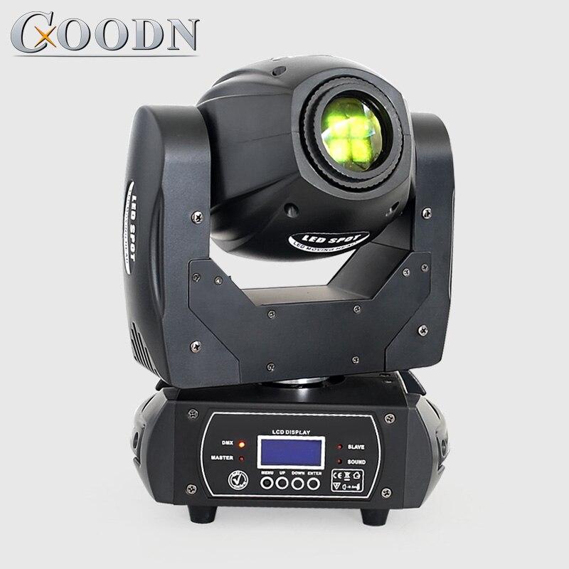 Mini Led Moving Head Light Quad Prism Gobo Color Moving Head Spot DJ Light