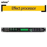 Pre effects ktv feedback anti howling suppressor karaoke reverb professional audio mixing processor