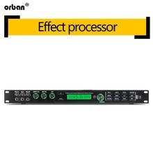 Pre-effects ktv feedback anti-howling suppressor karaoke reverb professional audio mixing processor