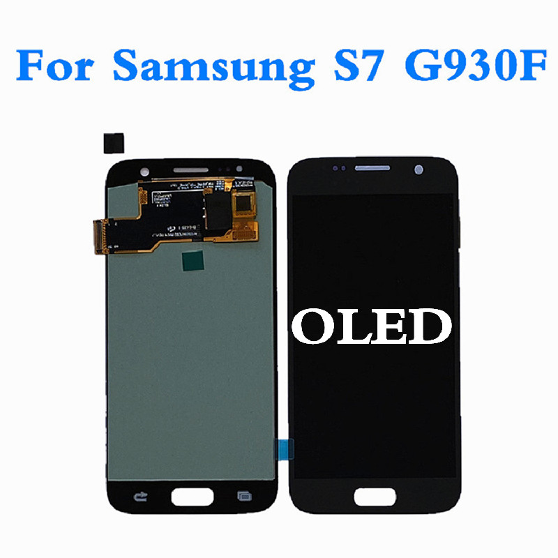 OLED <font><b>LCD</b></font> For <font><b>Samsung</b></font> <font><b>Galaxy</b></font> <font><b>S7</b></font> G930 <font><b>LCD</b></font> <font><b>Display</b></font> Screen Touch Panel Digitizer For <font><b>Samsung</b></font> <font><b>S7</b></font> <font><b>G930F</b></font> <font><b>Display</b></font> Screen For <font><b>Samsung</b></font> <font><b>S7</b></font> image