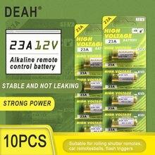 10PCS Nova Dry 23A 12V A23 Bateria Alcalina Para Campainha de alarme de Carro de controle Remoto 21/23 23GA A23 A-23 GP23A RV08 LRV08 E23A V23GA