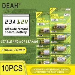 10PCS New Dry Alkaline Battery 23A 12V A23 For Doorbell Car alarm Remote control 21/23 23GA A23 A-23 GP23A RV08 LRV08 E23A V23GA