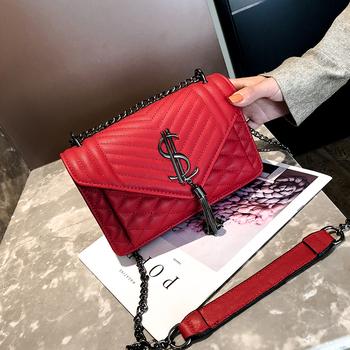 2019 nowe luksusowe torebki damskie torebki projektant torebki na ramię wieczorowa kopertówka torby kurierskie Crossbody dla kobiet torebki tanie i dobre opinie YILINRUI Flap Torby na ramię Na ramię i torby crossbody CN (pochodzenie) Hasp SOFT Klapa kieszeni Moda Skóra syntetyczna