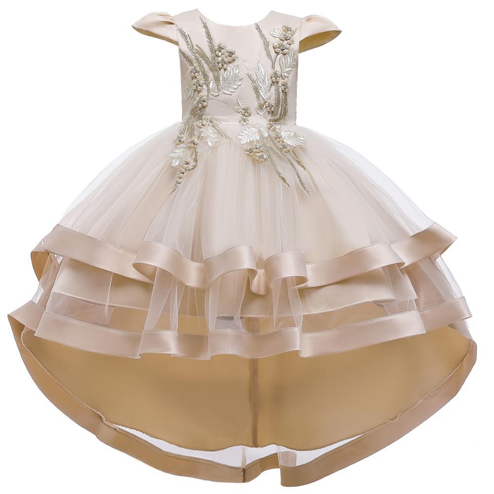 Girls Dress Christmas Kids Princess Dresses For Girls Clothing Flower Party Girls Dress Elegant For Girl Clothes 3-12Yrs wear 3
