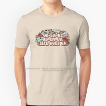 Camisa de algodão 100% algodão puro obladi obladi obladi obladi oblada oblada ob a ob da vida continua vivendo vida ao vivo lif