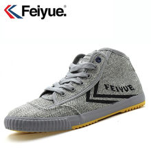 Feiyue shoes X Keyconcept clásico Felo Sneakers zapatos artes marciales Taichi Kungfu hombres mujeres zapatos(China)