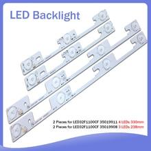 16 piece/lot FOR Konka led32f1100cf LED32F1160CF LCD TV backlight bar 35018476 35018478 Backlight Optical lens