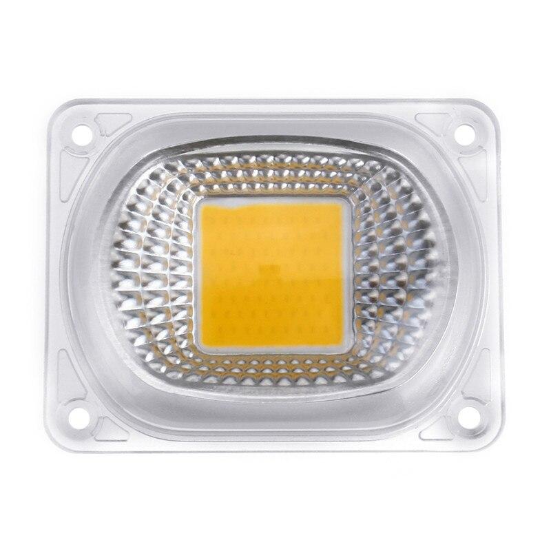CLAITE 10pcs High Power 50W Warm White LED COB Light Chip with Lens for DIY Flood Spotlight AC220V Sources for Flood Light|Light Beads| |  - title=