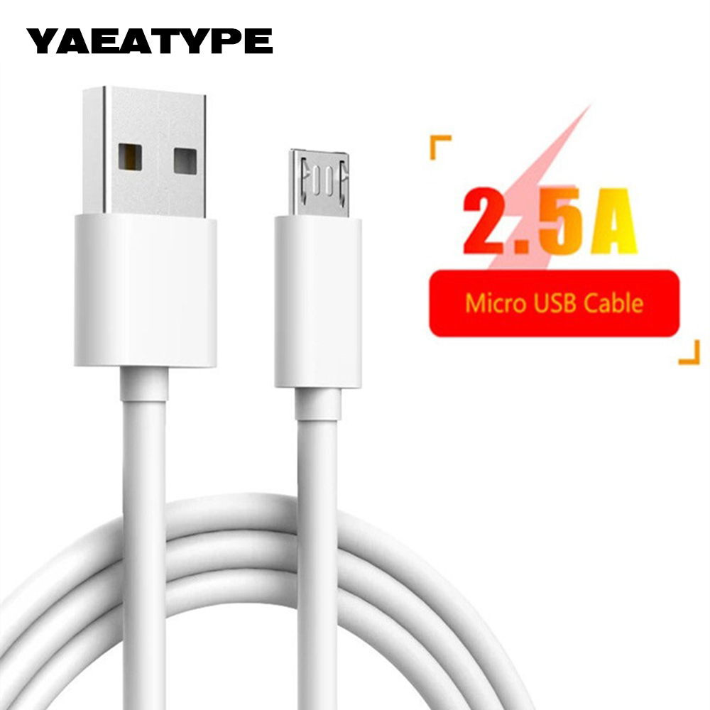 Micro USB Cabel Charging <font><b>Cable</b></font> For <font><b>Samsung</b></font> Galaxy J3 J5 J7 2017 A3 A5 A7 2016 <font><b>1</b></font> <font><b>2</b></font> Meter Kabel Kablo Mobile Phone Charger Adapter image