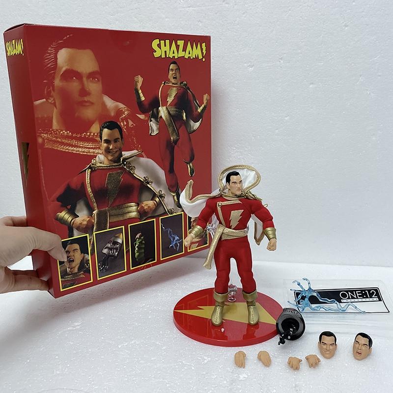Mezco Action Figure Mezco One 12 Shazam Commoner Super Villains Shazam Action Figures Model Toys Gift Doll
