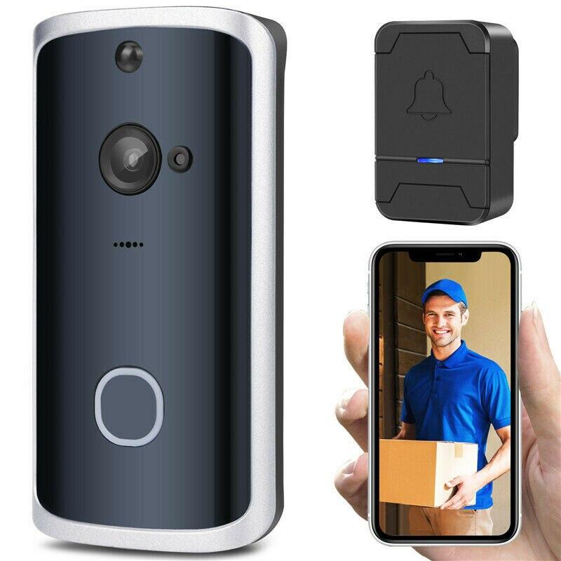 Functional Smart Wireless Phone Door Bell Camera WiFi Smart Video Intercom Ring Doorbell Motion Detection Video Phone Visual
