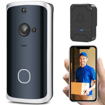 Functional Smart Wireless Phone Door Bell Camera WiFi Smart Video Intercom Ring Doorbell Motion Detection Video Phone Visual 7inch wifi ip video door phone video door bell home access control system password rfid card poe switch ip camera ios android