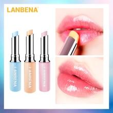 LANBENA Discoloration Lip Balm Moisturizing Nourish Plumper Brightening Lipbalm Lighten Lip Line Prevent Chapped Makeup Lipstick