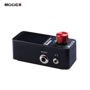 Image 2 - MOOER Radar Simulator Guitar Effect Pedal 30 Speaker Cab Cabinet Models 11 Mic Models 36 User Presets Customizable EQ stage