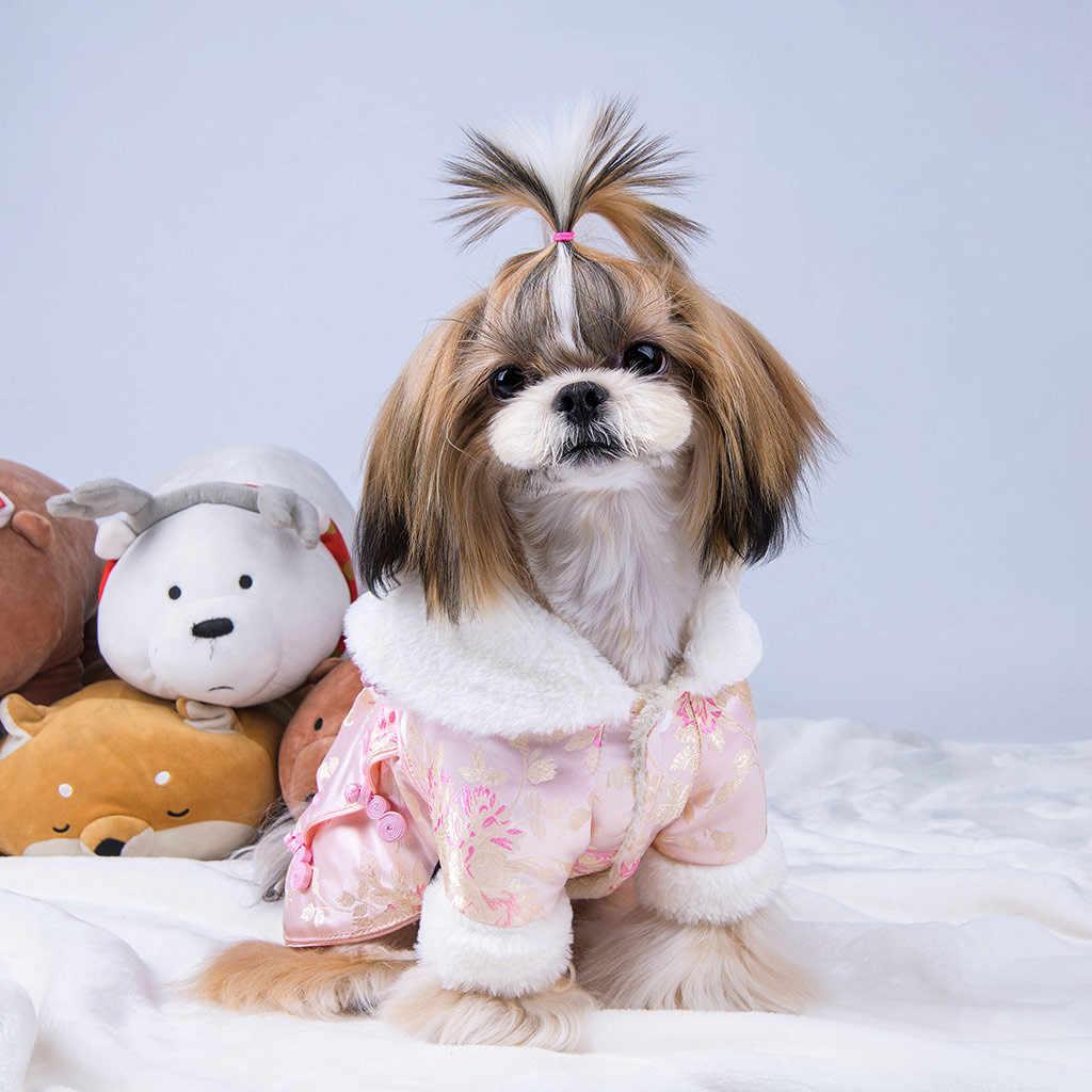 Пальто для собак, одежда для кошек, платье для щенков, теплое платье принцессы, праздничные юбки, зимнее платье, костюм для домашних животных, внешний вид, Perro Gatos