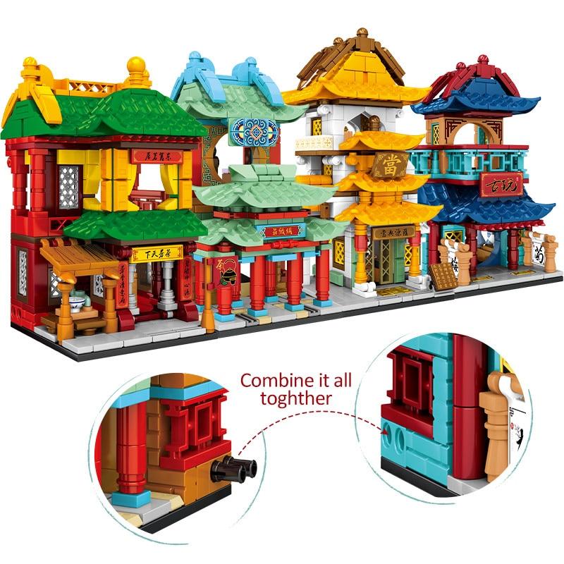 SEMBO Teahouse Shop Architecture Building Blocks