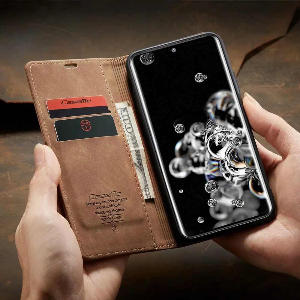 Da Mờ Flip Cover Dành Cho Samsung A71 A51 A70 A50 A40 A30 A20 A10 Ví S20 Cực Note 10 plus 9 8 S10 5G S10e S9 S8 S7