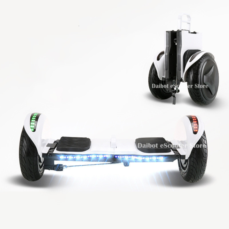 Daibot Off Road Electric Scooter Foldable 2 Wheels Self Balancing Scooters Double Drive 250W 36V Hoverboard Skateboard Bluetooth (16)