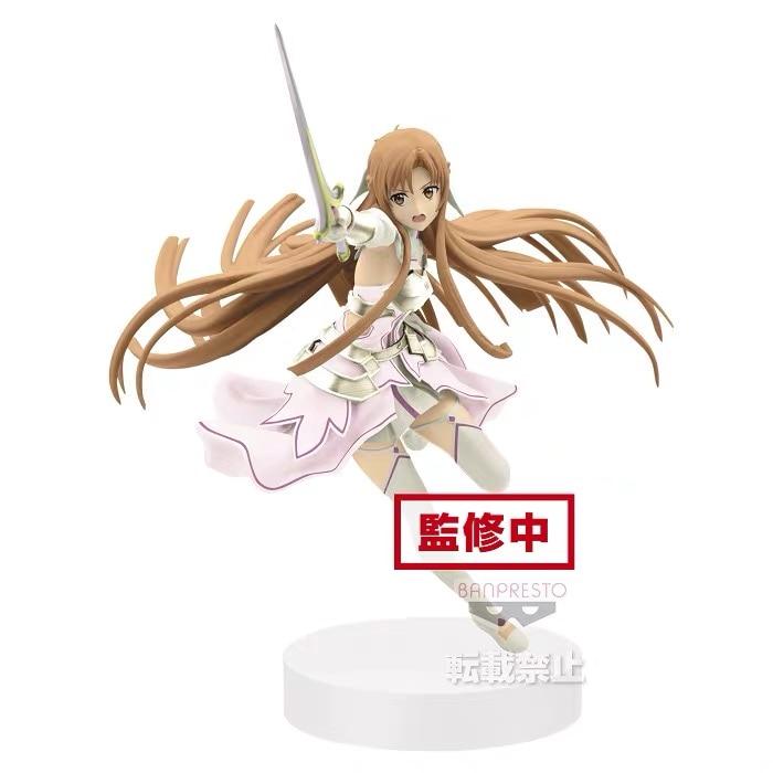 Preorder July Original Banpresto Sword Art Online Figure Asuna PVC Action Model Figurine