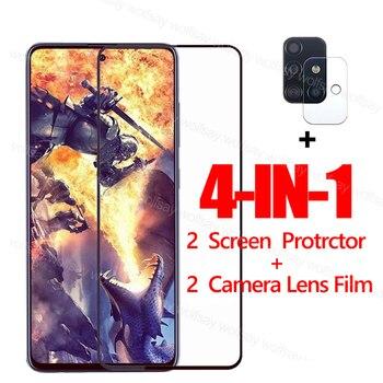 Перейти на Алиэкспресс и купить Закаленное стекло для Samsung Galaxy A21S A41 A31 A51 A71 A21 A11 A50 A70, Защитное стекло для экрана Samsung Galaxy A21S