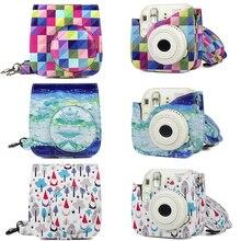 Stylish NEW Design Shoulder Bag Case Cover for Fujifilm instax Mini 8 Mini 9 Instant Film Camera