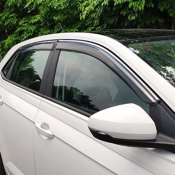 4pcs for POLO PLUS 2019 Windows visor windshield