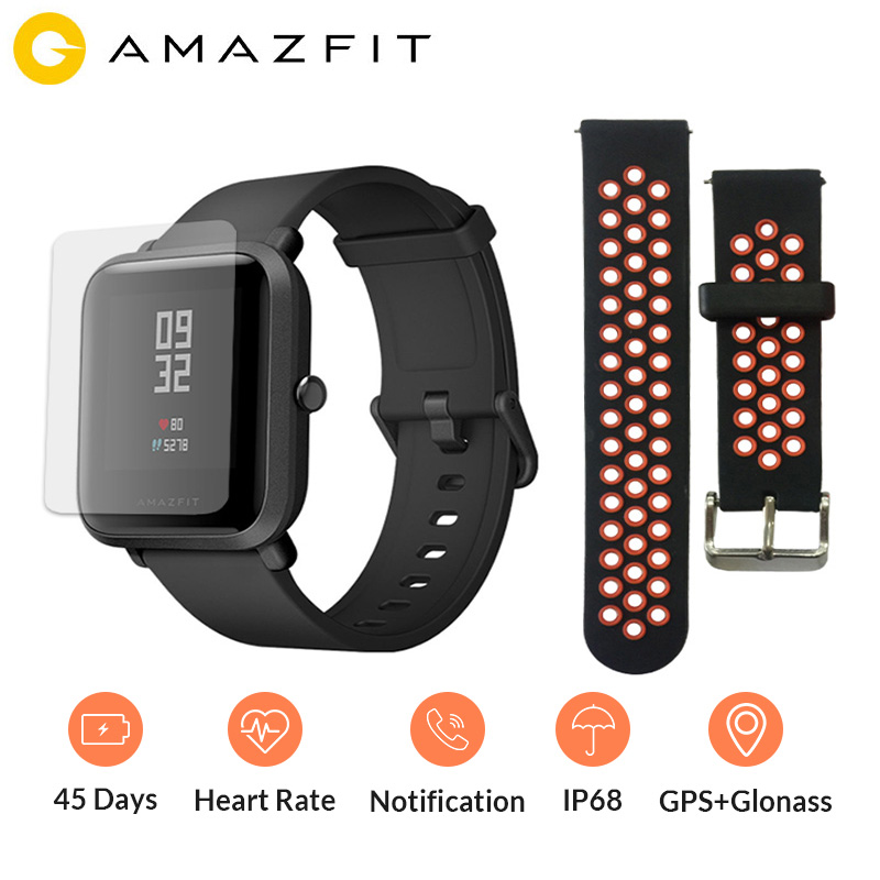 Amazfit Sport Smartwatch Standby-Battery Xiaomi Huami Heart-Rate-Monitor English-Version