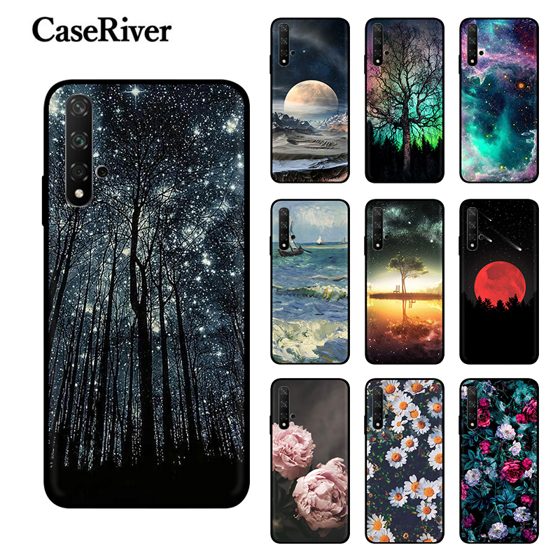 Soft Silicone Phone Case FOR Huawei Honor 20 PRO Cases Back Covers Honor 20 Funda TPU Honor20 Capa Honor 20 Lite Case Honor 20i image