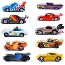 Disney pixar carros 3 2 frank raymond relâmpago mcqueen mater jackson tempestade ramirez diecast brinquedos carro criança presente de natal