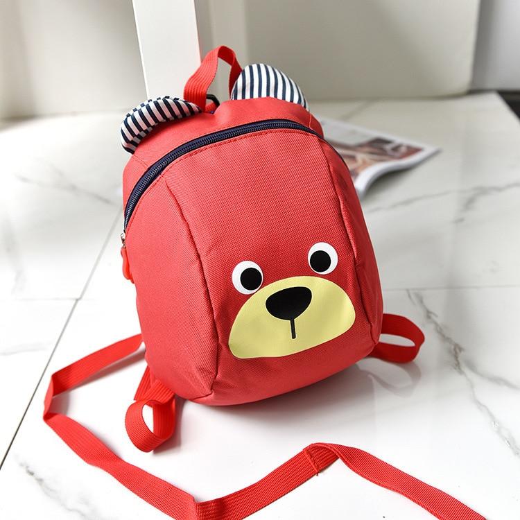 Aged 2-5 Toddler Backpack Anti Lost Kids Baby Bag Cartoon Animal Children Backpacks Kindergarten School Bag For Girls And Boys 1