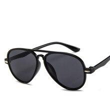 O sol da moda para ninos, lentes de sol de aviador, diseno de marca, 100%, proteccion uv