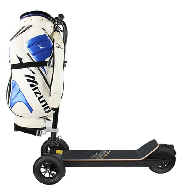 3 Wheel Golf Trolley Electric E Skateboard Self Balancing Scooter Long Range 500W Powerful Foldable For Club Free Shipping 1