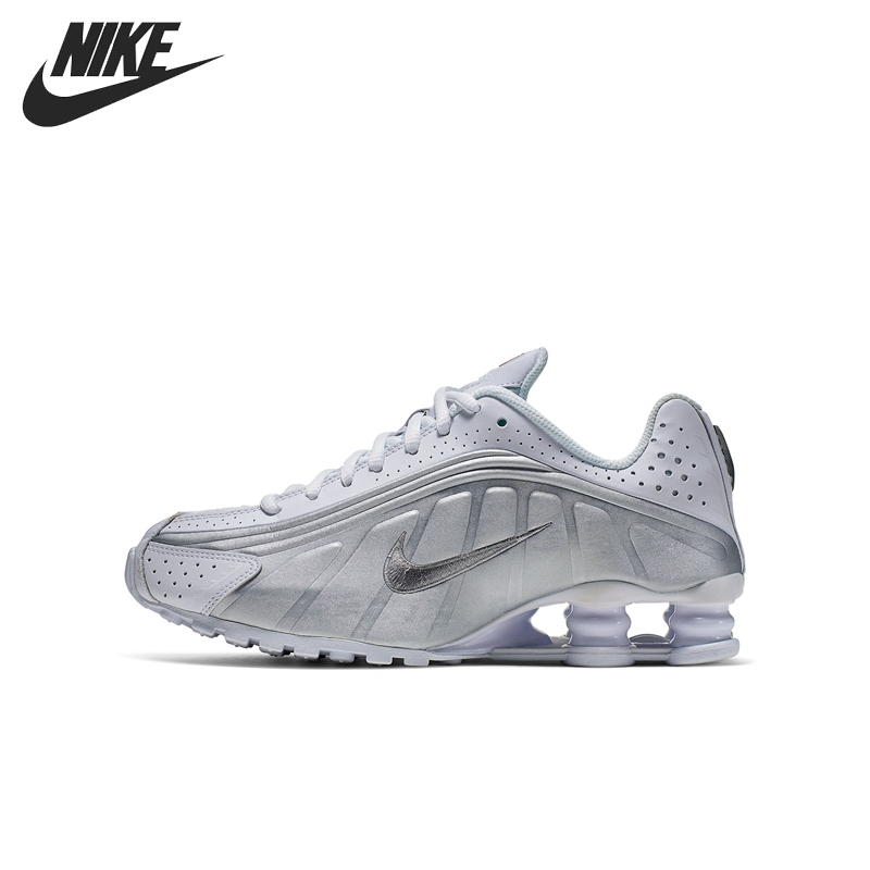 Original New Arrival NIKE SHOX R4 (GS)  Kids shoes Children Sneakers