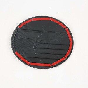 Image 2 - For 2020 Mazda CX 30 CX30 ABS Carbon Fiber Gasoline Tank Cap Fuel Tank Cover Protective Sticker Sticker Car Styling Accessories