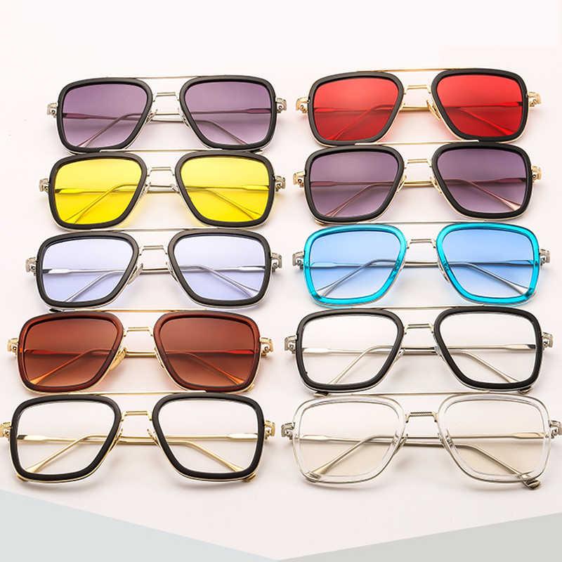 Luksusowe Retro męskie pudełko na okulary przeciwsłoneczne