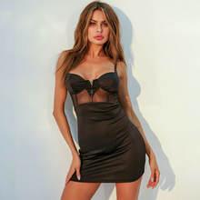Новое сексуальное вискозное Бандажное платье goocheer поступление