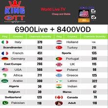 IP tv подписка итальянская Албания Польша латино Россия Бразилия арабский французский горячий клуб M3U MAG android smart tv BOX