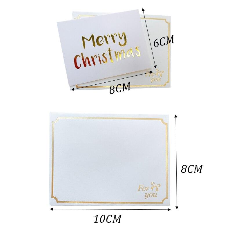Carte 100x Cadeau Étiquettes Enfilées blanc mariage faveurs cadeaux 70 x45mm Marron