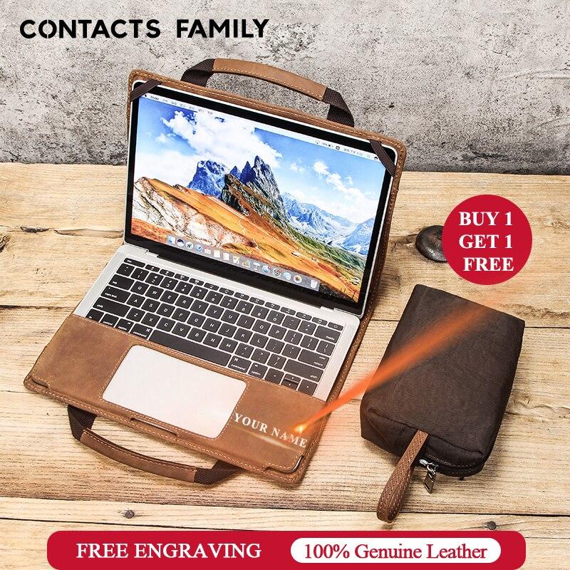 Housse de protection en cuir pour ordinateur portable Macook Pro 13