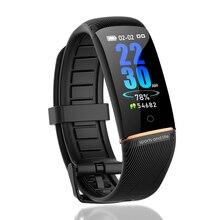 LIGE New Smart Bracelet Men Luxury Brand Band Heart Rate Blood Pressure Monitor fitness tracker Pedometer Sport Watch+Box