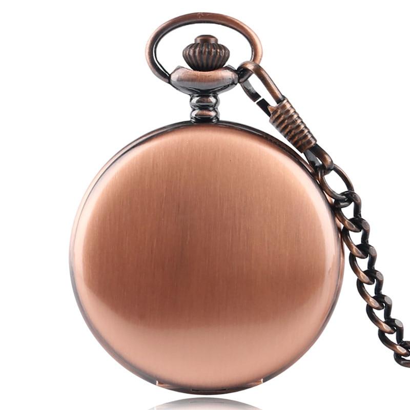 Купить с кэшбэком 2020 New Arrival Silver Smooth Quartz Pocket Watches Men Women Fashion Thick Chain Retro Necklace Fob Watch for Gift