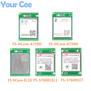 Image 4 - 4G מודול פיתוח לוח LTE Core לוח SIM7600CE Air720D Air720H EC20 GPS מיקום אלחוטי מודול תמיכה FTPS/HTTPS /DNS