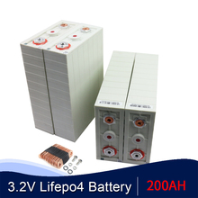 OYE Brand NEW 8PCS 3.2v CALB200AH Lifepo4 Batteries Form 12V400AH 24V200AH Cell Packs High Capacity For RV Boat EU US Tax Free